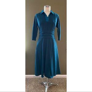 ESHAKTI Empire Waist Dress
